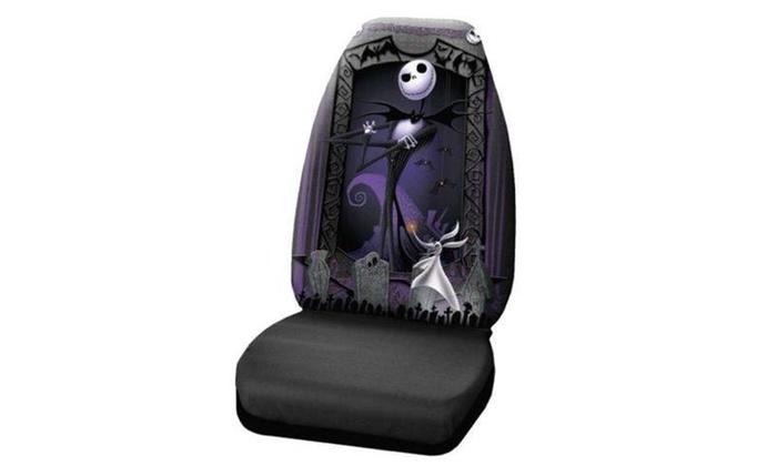 Stupendous Plasticolor P23 006949R01 Nightmare Before Christmas Seat Cover Machost Co Dining Chair Design Ideas Machostcouk