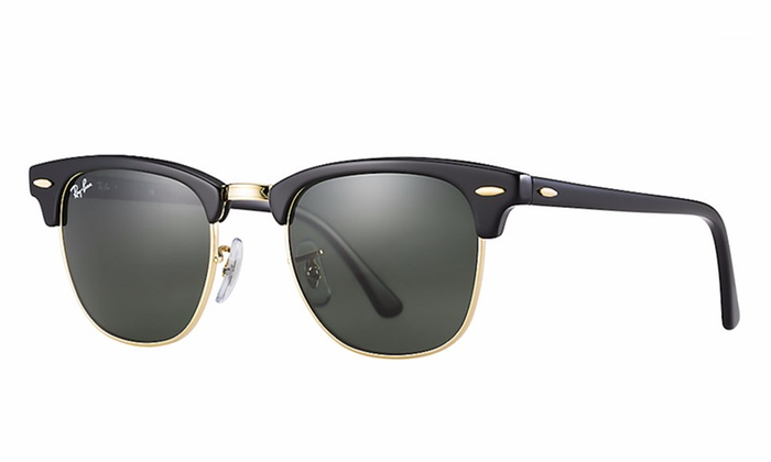 04f2f11810 ... Ray Ban Clubmaster Classic RB3016 51mm Sunglasses With G-15 Green Lens