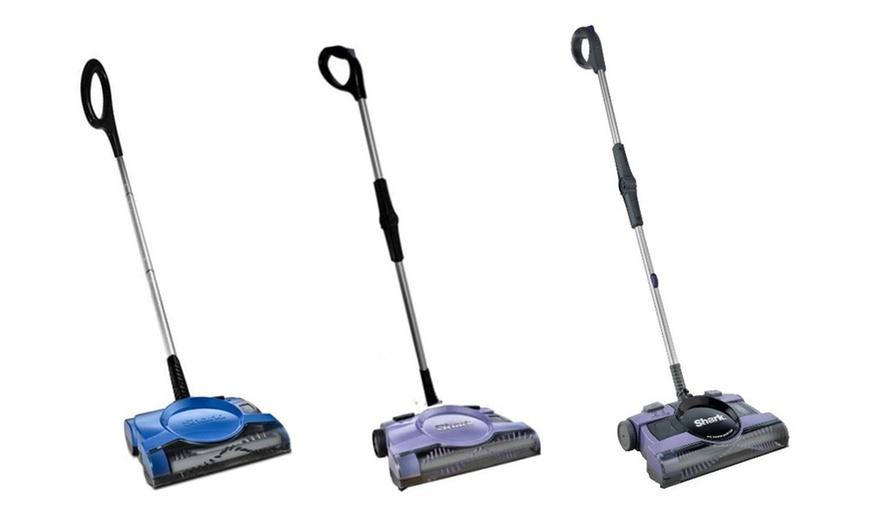 Renewed Shark V2945Z 12in Rechargeable Floor Carpet Sweeper