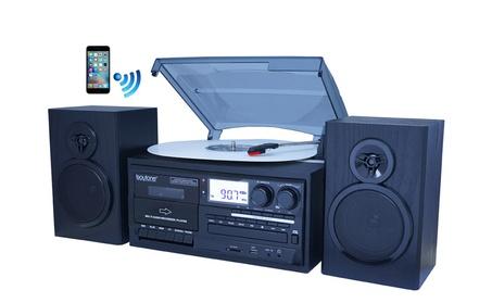 Boytone BT-28SPB, Bluetooth Classic Style Record Player Turntable with 3b58a227-6e85-4b5a-8ceb-a46e9ffd0070