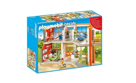 Playmobil City Life Furnished Children's Hospital Playset ea367851-7baa-4cdc-9306-525d9191269c