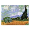 Vincent van Gogh 'Wheatfield with Cypresses 1889' Canvas Art