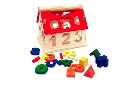 Kid Wooden Digital Number House Building Toy Educational blocks. 9ab5b748-ff96-4bd8-bc75-71c4749382e0