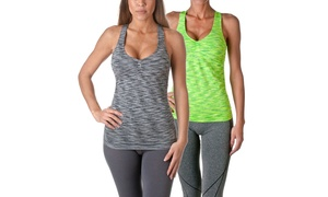 Riverberry Women's Actives Racerback Top 03