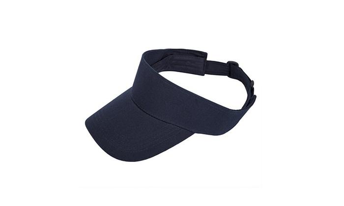 2e8abaf70e6 Blank Golf Sports Summer Sun Visor Hats Visors Cotton 9 Colors Unisex