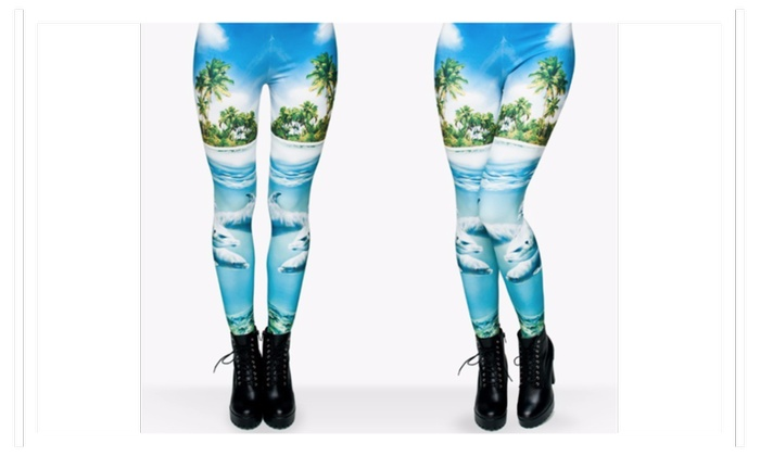 Women Beach Leggings