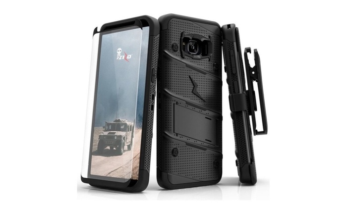 finest selection 3c7bc 186cc Zizo Bolt Cover for Samsung Galaxy S8/S8 Plus | Groupon