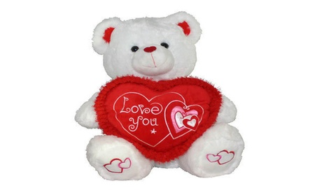 Valentines Day Gift Speaks I Love You & Turns Red SoftPlush Teddy Bear 5bad46b0-fb9d-41c7-92c0-927ddc9ff9c3