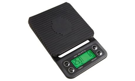 Knox High Precision Strain Gauge Portable Digital Coffee Scale
