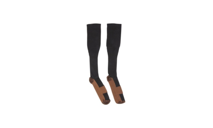 Fashion Comfortable Relief Soft Unisex Anti-Fatigue Compression Socks