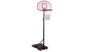 Adjustable Basketball Hoop System Stand Kid Indoor Outdoor Net Goal
