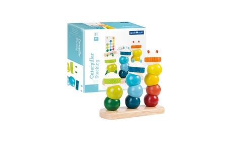 Guidecraft Kids Play Caterpillar Stacking 22b2eafa-25bc-48af-8bba-24946da00538