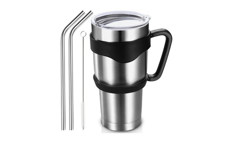 Homitt 30 oz Travel Insulated Mug Tumbler Double Wall Vacuum Stainless 77c60726-8636-4c23-86ee-0c94613c0d31