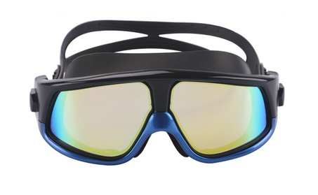 Silicone Frame Anti-Fog UV Protection Waterproof Swim Glasses 13958ff2-bcf8-43ae-9573-4b447cc5135d