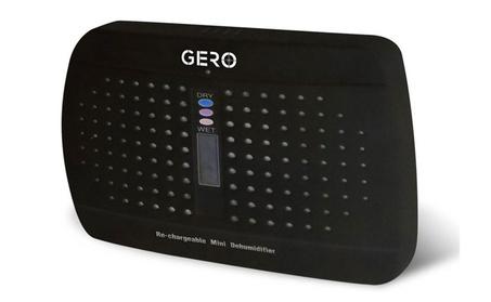 Black Mini Dehumidifier by GERO Rechargeable Renewable dd63483e-f01d-49e3-aa9e-89a9847d4e83