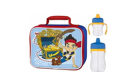 Thermos Soft Lunch Kit w/ Drink Cups - Jake and the Neverland Pirates efe983ad-f786-49f1-ba7a-8b4feeaebb43