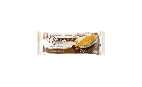 Quest Nutrition Protein Bar, S'mores 12 Count