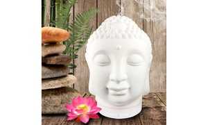 Ceramic Buddha Diffuser with Ambient Lights and Auto Shutoff