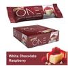 Oh Yeah! One Bar White Chocolate Raspberry 12ct 22g Protein Energy