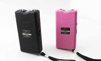 Jolt Mini Stun Gun 56,000,000 Volt with LED Flashlight and Holster