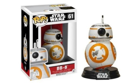 Funko Pop Star Wars Force Awakens BB-8 Bobble-head Vinyl Action Figure Toy #61 2b53f862-81b1-4496-bc60-55cc2ec53518