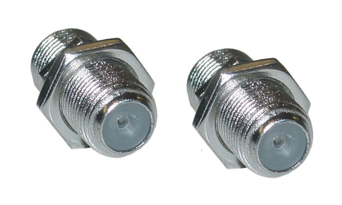 Cable F-pin Coaxial Coupler, F-pin Female