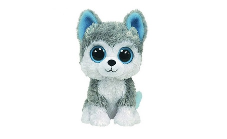 Beanie Boos Big Eyes Husky Dog Kids Toy 336664c0-151e-4a79-b3a4-1559d2b8192d