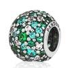Pandora 791755mcz Shimmering Droplet Teal Charm
