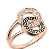Genuine Austrian Crystals Gold Color Women's Ring