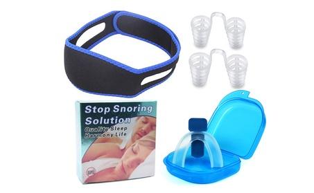 4PCS Snore Stopper Nose Vents Device, Chin Strap, Anti Snore Mouth Guard 440c8768-1e48-454a-b683-da4e64e8d887