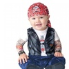 In Character 218320 Born To Be Wild Infant-Toddler Costume Small 6-12M