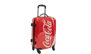 """Coca-Cola 21"""" Spinner Rolling Luggage Suitcase"""