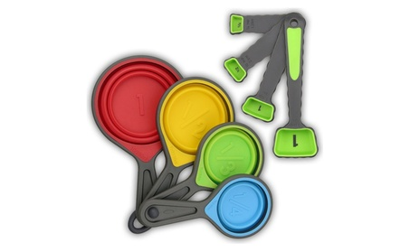 8-Piece Set: Collapsible Colorful Measuring Cups & Spoons c262db26-91b1-4acb-9ded-2ca9c055897f