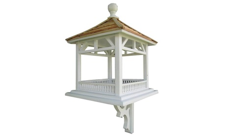 Home Bazaar HB-2085 Dream House Feeder Pine Shingle Roof Classic (Goods Pet Supplies Bird Supplies) photo