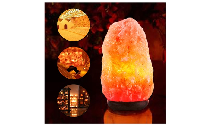 Salt Lamps For Colds : Natural Crystal Himalayan Rock Salt Lamps Groupon