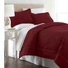 Micro Flannel  Twin Comforter With 1 Standard Sham