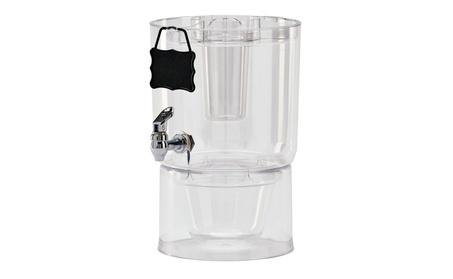 Buddeez Cold Beverage Dispenser, 1.75 gallon, Clear e40cad50-610f-4035-9090-a6b21aa216a5
