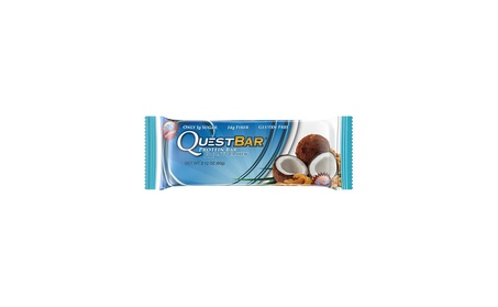 Quest Nutrition Protein Bar, Coconut Cashew, 20g Protein, 12 Count