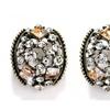 Luxury Round Shape Stud Earrings For Women