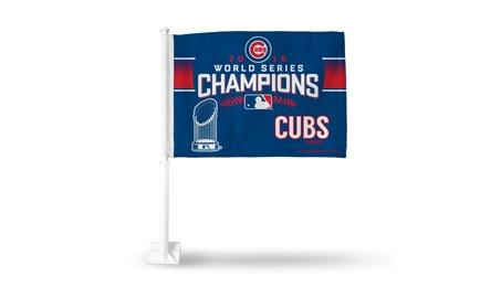 MLB Chicago Cubs Car Flag 2016 World Series Champs - 2 Pack ce0fa8fb-cd43-4987-80e6-a164c28e02ac