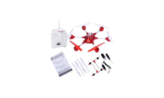 KL890 Model Remote Control Rc Gyro Rtf Hexacopter with HD Camera