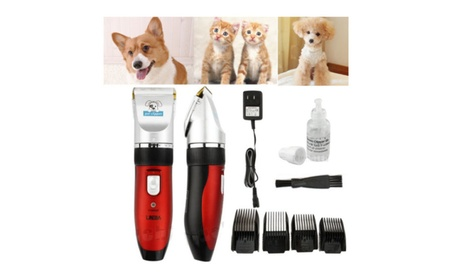Low-noise Electric Hair Trimmer Shaver Razor Grooming Clipper for Pets adf412af-639d-468c-97e0-0e124b070733