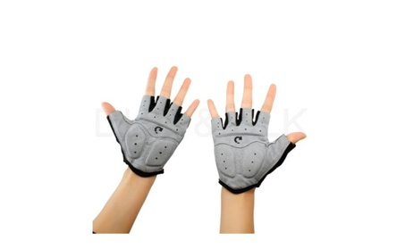 Cycling Motorcycle MTB Bike Bicycle Half Finger Gloves e53f7ded-1e8b-4d19-92d1-25ad2b024358