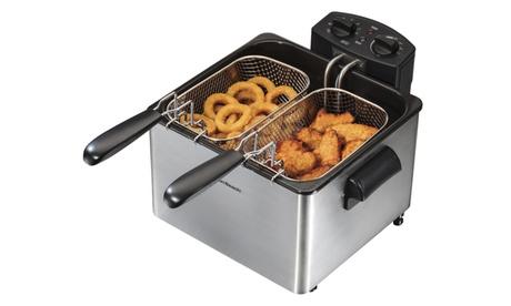 Hamilton Beach 12 Cup Professional-Style Deep Fryer a962ac81-75ce-4f66-9a97-fbed862427b4