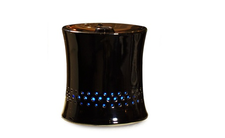 SPT Ultrasonic Aroma Diffuser/Humidifier with Black Ceramic Housing 367d115c-4920-4d29-b1f4-017086959f97