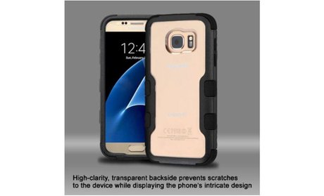 Insten Hard Hybrid Crystal Silicone Cover Case For Samsung Galaxy S7