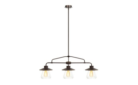 Vintage Home 3-Light Jar Pendant Chandelier 0a046aa3-f65d-4e64-9a11-6e3461b9bef3