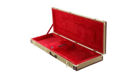 Topeakmart Electric Guitar Case Tweed Lockable W/Keys Handle f7d2c5ae-7f45-4bf7-a175-6232cdac81d0