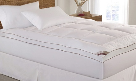 Kathy Ireland 2'' Thick Cotton Fiber Mattress Topper
