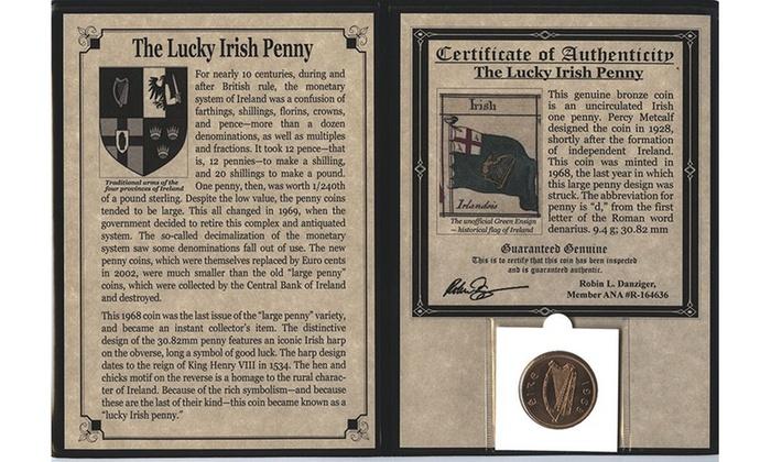 Lucky Irish Penny Album